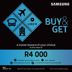 Samsung Buy and Get Blue