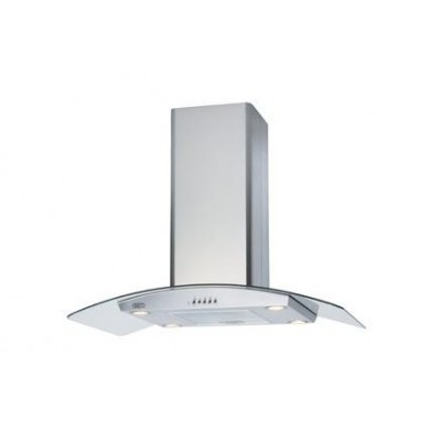 Defy 900C Premium Curved Glass Island Cookerhood