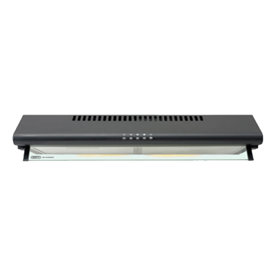 Defy 600 Black Slimline Cookerhood