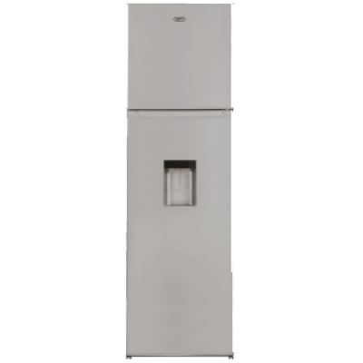 Defy D220 220L Top Freezer Combi Refrigerator with Water Dispenser - Metallic