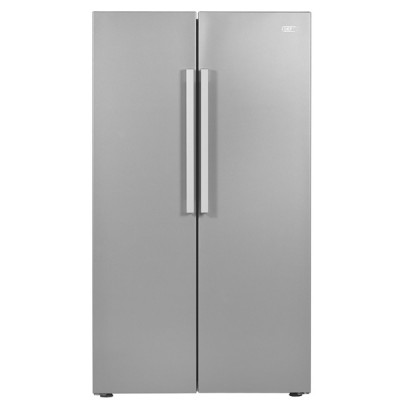 Defy DFF419 F790 698L Side By Side Refrigerator - Metallic
