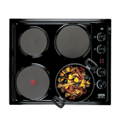 Defy 600 Slimline Solid Plate Hob with Control Panel