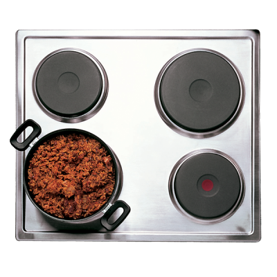 Defy 600 Slimline Solid Plate Hob without Control Panel - Stainless Steel
