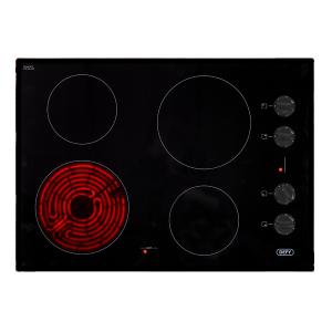 Defy 700 Gemini Ceran Hob with Control Panel - Black