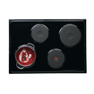 Defy 710 Gemini Solid Plate Hob without Control Panel