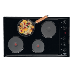 Defy DHD326 830 Gemini Solid Plate Hob with Control Panel