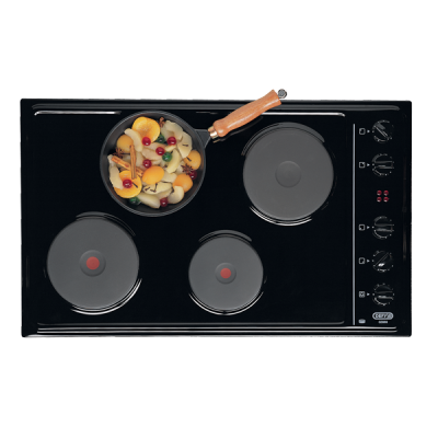 Defy 830 Gemini Solid Plate Hob with Control Panel