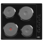 Defy DHD398 Slimline Solid Plate Hob With Control Panel