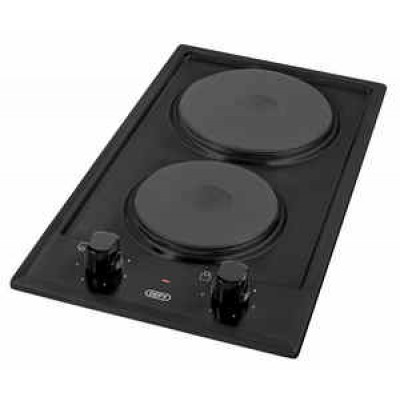 Defy Domino 2 Plate Solid Hob