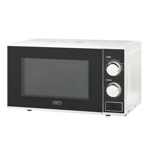 Defy 20L Manual Microwave - White