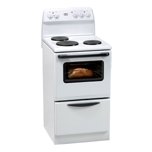 Defy 501 3 Plate Stove - White