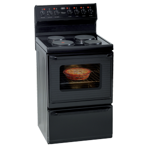 Defy 621 Kitchenaire 4 Plate Stove - Black