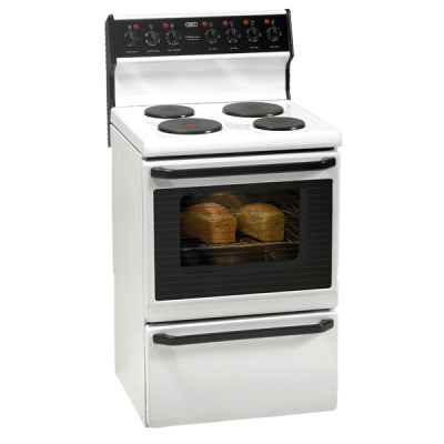 Defy 621 Kitchenaire 4 Plate Stove - White