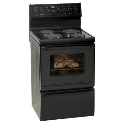 Defy 631T Multifunction 4 Plate Stove - Black