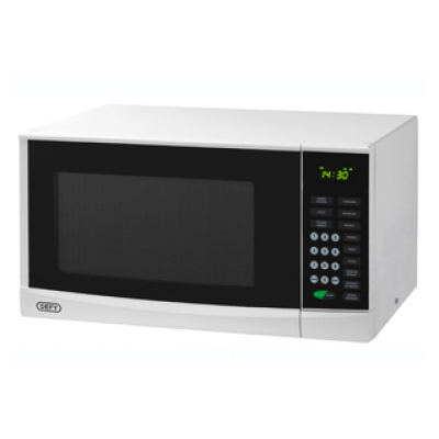 Defy 28L Electronic Microwave - White