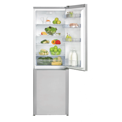 Defy C387 363L Bottom Freezer Combi - Metallic