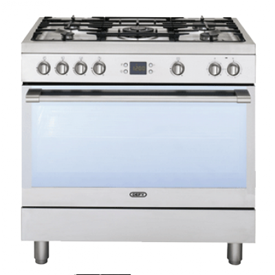 Defy 5 Burner Stainless Steel Gas/Electric Stove