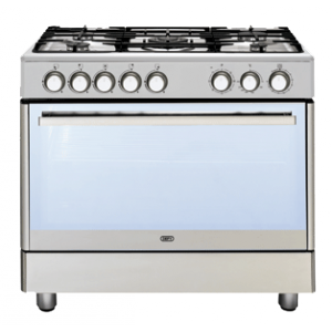 Defy 90cm 5 Burner Gas Stove Multifunction Oven