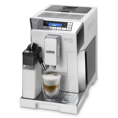 Delonghi ECAM 45.760.W Eletta Cappuccino Coffee Machine
