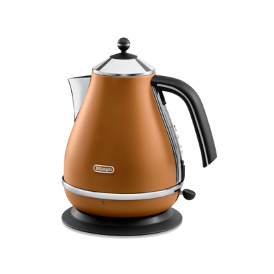 Delonghi Icona Vintage Kettle Brown