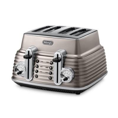 Delonghi Scultura CTZ4003.BG Toaster - Bronze