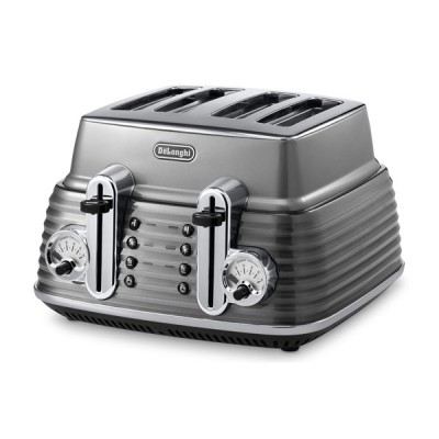 Delonghi Scultura CTZ4003.GY Toaster - Grey