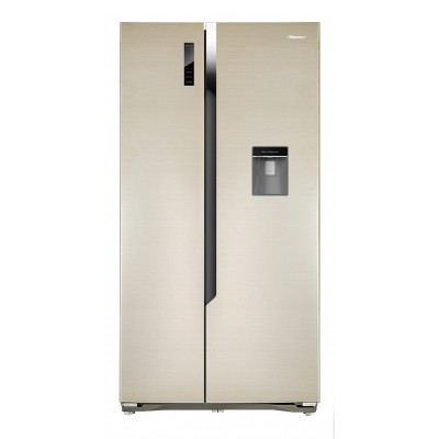 Hisense H670SG-WD 514L Side by Side Refrigerator - Water Dispenser