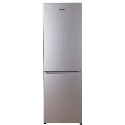 Hisense H420BME 325L Bottom Freezer Combi Refrigerator - Metallic