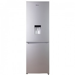 Hisense H420BME-WD 323L Bottom Freezer Combi Refrigerator With Water Dispenser - Metallic