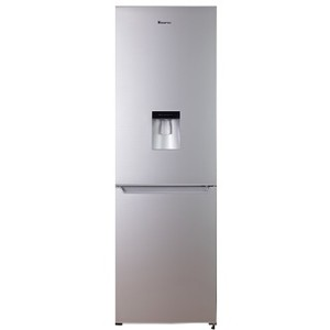 Hisense H420BME-WD 323L Bottom Freezer Combi Refrigerator With Water Dispenser - Metallic