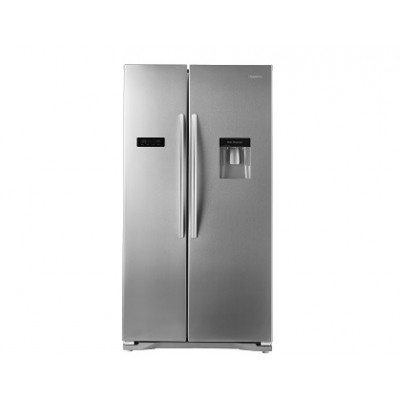 Hisense H730SS-WD 556L Side By Side Refrigerator - Stainless Steel With Water Dispenser