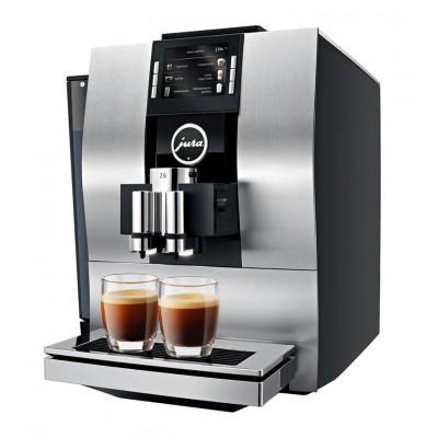 Jura Z6 Automatic Cappuccino Coffee Machine - Aluminium