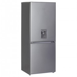 KIC KBF630/1ME WD 276L Bottom Freezer Combi Refrigerator With Water Dispenser - Metallic
