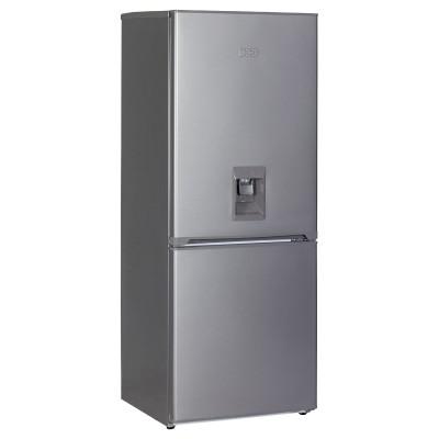 KIC KBF630/1ME WD 276L Bottom Freezer Combi Refrigerator With Water Dispenser - Metallic