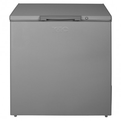 KIC KCG210/01ME 210L Chest Freezer - Metallic