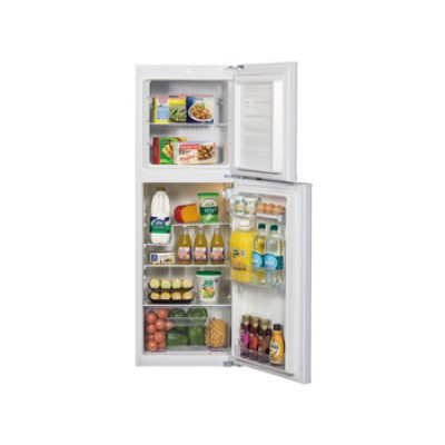 KIC KTF518WH 170L Top Freezer Combi Refrigerator - White