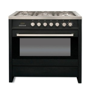 Kelvinator KC9650BL 90CM Freestanding Stainless Steel Gas/Electric Stove