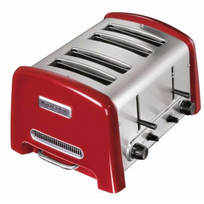 KitchenAid Artisan 4 Slice Toaster - Red