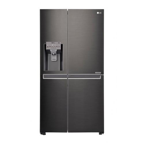 Lg gc j247ckbz 665l side by side fridge lg door in door for Lg door in door fridge