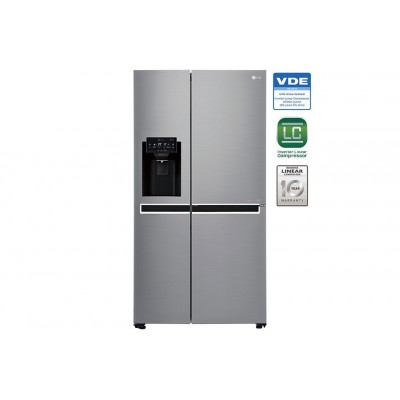 LG GC-L247SLUV 601L Side by Side Water & Ice Dispenser Refrigerator