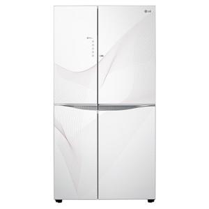 LG GC-M237JGQN 635L Door In Door Refrigerator - Karim White