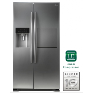 LG GC-P207GLYV 506L Side By Side Refrigerator