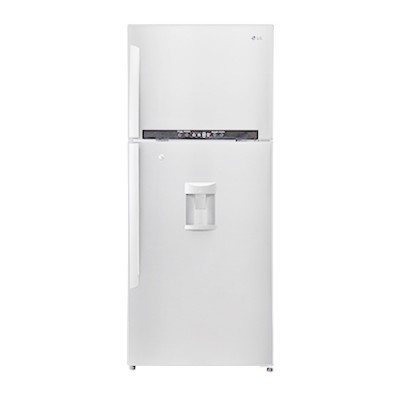 LG GL-B492GQPL 421L Top Freezer Combi Refrigerator With Water Dispenser - White