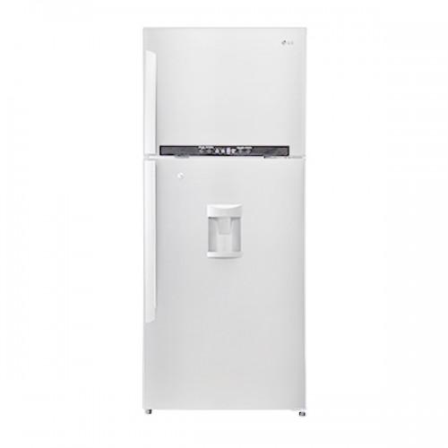 Top Freezer Combi Lg Gl B492gqpl 421l Top Freezer Combi Refrigerator With Water Dispenser White