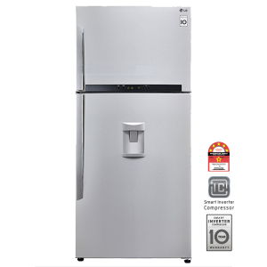 LG GN-B702HLPL 546L Top Freezer Combi With Water Dispenser
