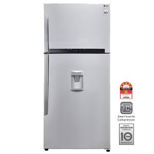 LG GN-B702HLPL 546L Top Freezer Combi With Water Dispenser
