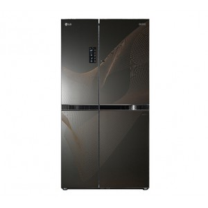 LG GC-M237JGQN 635L Door In Door Refrigerator - Karim Black