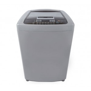 LG T1207TEFTH 12KG Turbo Drum Top Loader Washing Machine - Silver