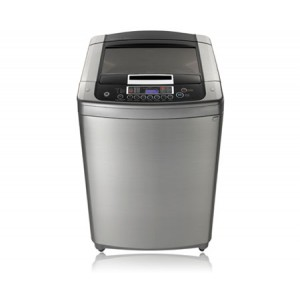 LG T1603TEFS 16KG Top Loader Washing Machine - Silver