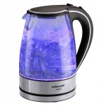 Mellerware 1.7L Vision Glass Kettle - Blue